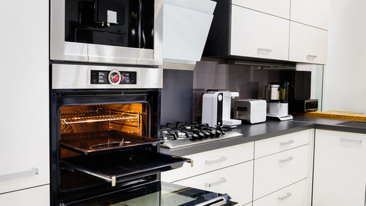 The big appliances in your kitchen make up a huge share of your home's energy usage. You can cut down on that draw by going green in order to conserve energy in your kitchen.